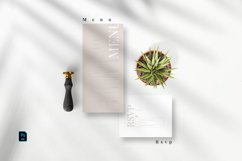 Minimal Modern Invitation Set Product Image 2
