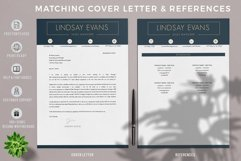 Professional Resume Template Bundle, Cover Letter, Reference Product Image 3