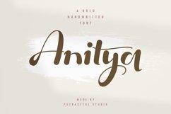 Anitya - Bold Handwritten Product Image 1