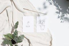 Line Art Logo Elements, Logo Design, Business card, Boho Product Image 4
