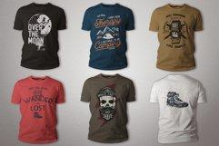 T-Shirt Designs Bundle SVG Retro Sublimation Pack. Part 1 Product Image 2