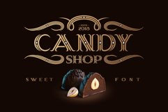 Candy Shop font with bonus Product Image 1