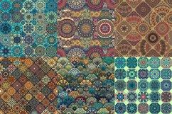 Tile mosaic seamless patterns set Product Image 2