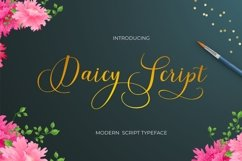 Daicy Script Product Image 1