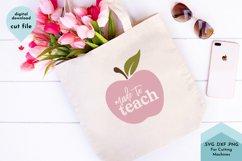 Made To Teach - Teacher Appreciation, Home School Mom Product Image 1