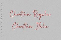 Chorettan Font Product Image 2