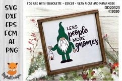 Less People More Gnomes SVG Product Image 1