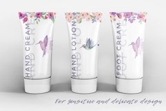 Spring Flowers and Hummingbirds Wanercolor Set Product Image 8