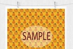 Pumpkin Digital Paper Product Image 6