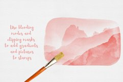 100 Watercolor Stamp Brushes for Procreate and PS Product Image 3