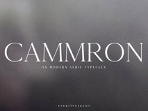 Cammron Serif Font Family Product Image 1