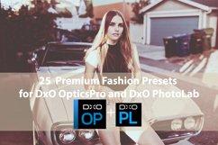 25 Premium Fashion Presets for DxO OpticsPro, DxO PhotoLab Product Image 1