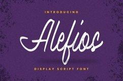 Alefios Font Product Image 1