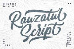 Rauzatul Script | Modern Stylish Font Product Image 1