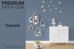 Kids Room - Wall & 90 Custom Frames Product Image 2