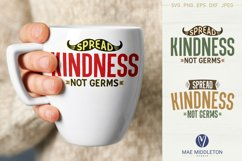 Spread Kindness SVG files, printables, sublimation Product Image 2