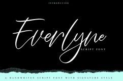 Everlyne   Script Font Product Image 1