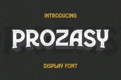 Web Font Prozasy Font Product Image 1