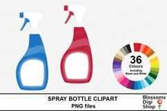 Spray Bottle Clipart Product Image 1