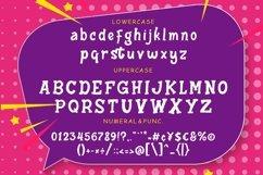Hattrick Fun Children Typeface Product Image 6
