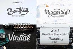 3 in 1 Premium script font Product Image 1