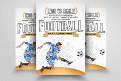 7 Football Match Flyers Bundle Product Image 5