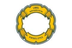 Vintage style labels set. V2 Product Image 4