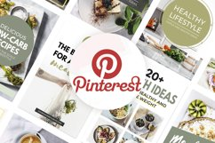 Canva Pinterest Templates in Green Product Image 4