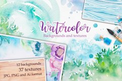 Watercolor textures Product Image 1