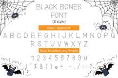 Black Bones Halloween Font Product Image 4