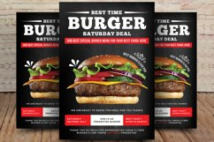 Classic Burger Flyer Product Image 1