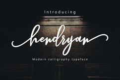 Hendryan Script Product Image 1