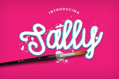 Sally Script Product Image 1