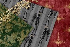 Gothic Christmas Digital Paper Set 2 Product Image 2