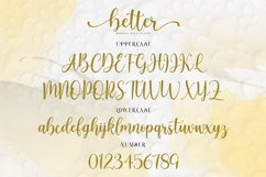 Better Modern Calligraphy Product Image 5