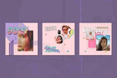 90's Vol1 Instagram Templates Product Image 5