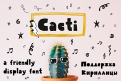 Cacti display font Product Image 1