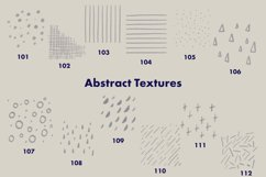 Abstract Stamp Brushes for Procreate - Shapes and Textures Product Image 3