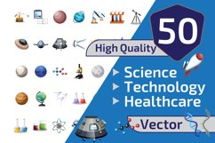 50x Science and Technology illustration collection Product Image 1