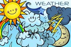 Happy Sky Weather Seasonal Climate Illustrations Product Image 1