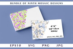Bundle of ninth mosaic designs Product Image 1