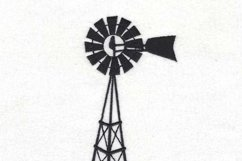 Simple Winged Farm Windmill Embroidery Design Product Image 6