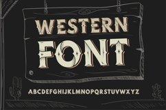 Western OTF vintage label font. Uppercase only! Product Image 1