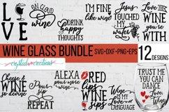 Wine Bundle SVG, DXF, PNG, EPS Product Image 1