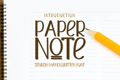 Paper Note Product Image 1