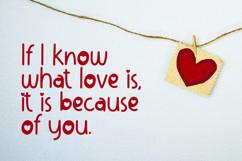 Web Font Lovable - Sweet Valentine Font Product Image 5