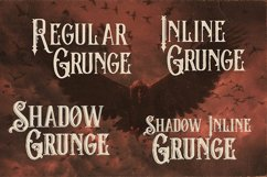 The Crow - Vintage Style Font Product Image 2
