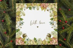 Watercolor Winter frames. Christmas cliparts Product Image 6