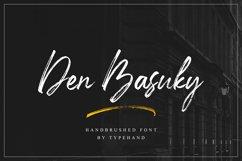 Den Basuky - Rustic Brush Font Product Image 1