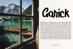 Adirolie's | Simple Modern Typeface Font Product Image 4